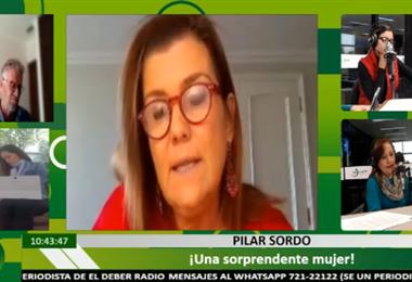 Pilar Sordo en ¡Qué Semana!