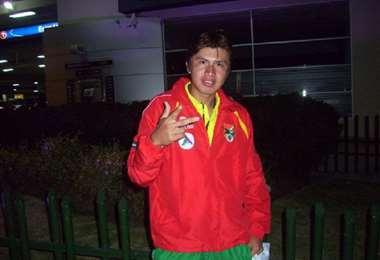 Frans Román jugó en las selecciones menores de Bolivia entre 2009 y 2011. Foto: Internet