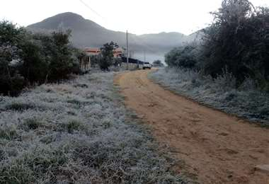En las últimas horas se percibieron facetas como esta en los valles cruceños. Fotos: Juan Carlos Aguilar