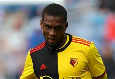 Christian Kabasele nació en Bélgica, tiene 29 años y juega en el Watford desde 2016. Foto: Internet