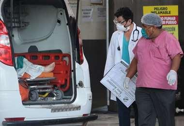 La pandemia ha infectado a 5.915 bolivianos /Foto: Hernán Virgo
