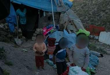 Los menores rescatados I Defensoría.