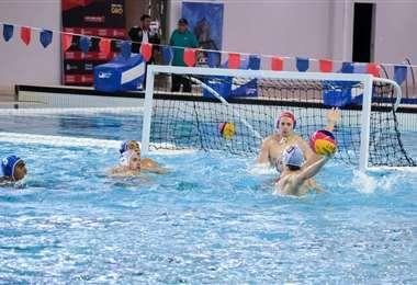 El polo acuático está dentro del programa del campeonato que se realizará en Bolivia. Foto: Internet