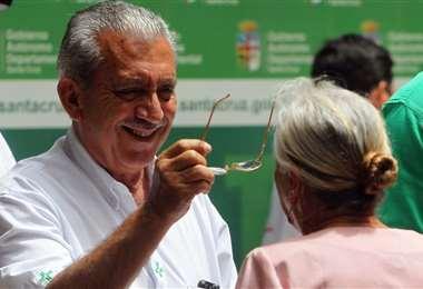 Urenda tiene 72 años y se mantiene como secretario de Salud /Foto: Ricardo Montero