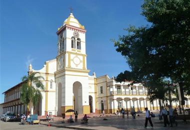 Muchos fieles no pueden visitar el Santuario de Cotoca por la cuarentena. Foto. Internet