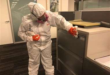 Empresas de limpieza en EEUU se preparan para una explosión en la demanda