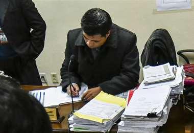 El administrador de justicia I APG Noticias.