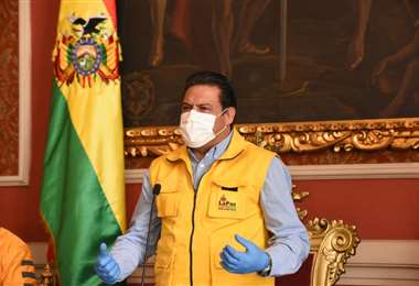El alcalde de la ciudad de La Paz I AMN.