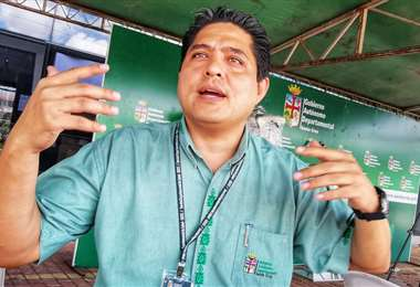 Marcelo Ríos es director del Sedes (Pablo Ortiz)