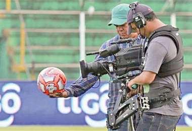 El ingreso económico por el nuevo contrato de Tv es la esperanza de los clubes de la División Profesional. Foto: internet