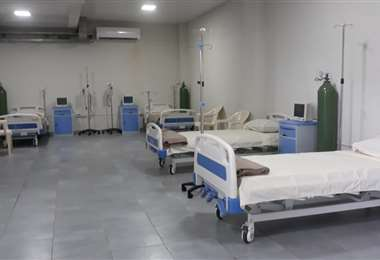 Habilitan centro de aislamiento para Covid-19 en estadio de Yapacaní
