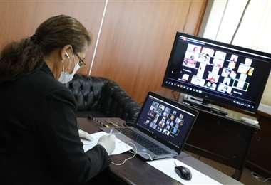 Asambleísta sesionaron virtualmente para la aprobación de la declataroria