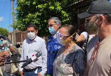 Autoridades continúa preparando el encapsulamiento a Trinidad