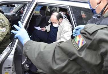 El ex ministro Navajas I APG Noticias.
