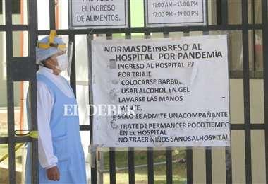 La Gobernación busca personal de salud para la atención de pacientes con Covid-19. Foto: Jorge Ibáñez