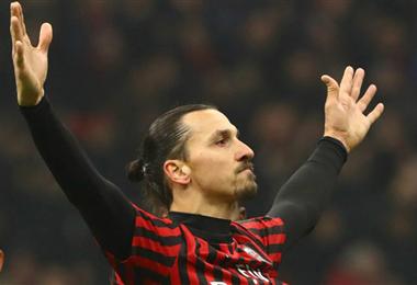 Ibrahimovic es clave en el Milán