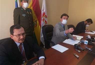 José María Cabrera llamó a la prensa para dar a conocer los detalles