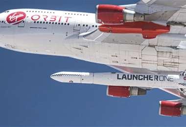 Fracasó el vuelo de prueba con el cohete. Foto AFP