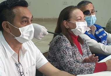 Se reunieron en el Colegio Médico. Foto: Edwin Flores