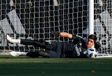 Thibaut Courtois tiene 28 años y juega en el Real Madrid desde 2018. Foto: Internet