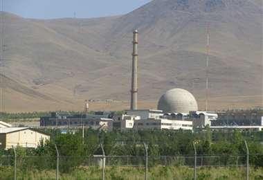 La planta nuclear de Arak, en Irán. Foto Internet
