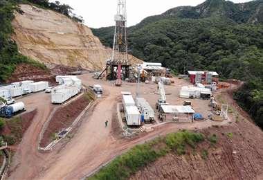 El pozo está a 600 metros de los límites con la región oriental/Foto: Gobernación de Santa Cruz