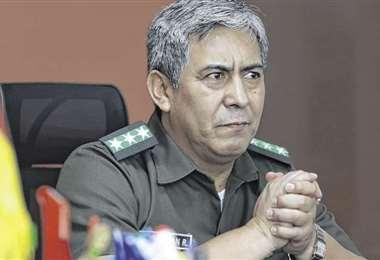 José Enrique Terán, comandante departamental de Santa Cruz