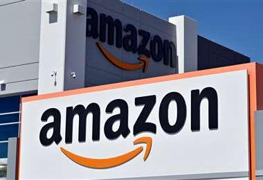 Centro de distribución de Amazon en EEUU. Foto AFP