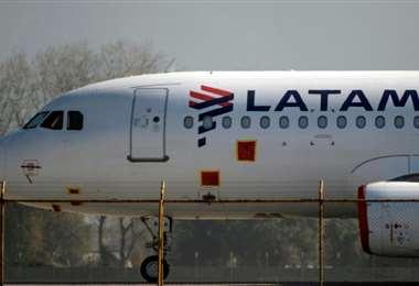 La aerolínea Latam se declaró en bancarrota hace unos días