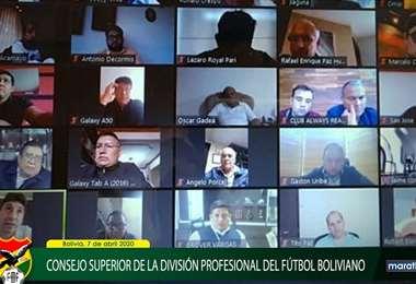 El 5 de junio se reunirá otra vez los dirigentes de los clubes con miembros del comité ejecutivo de la FBF. Foto: FBF