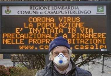 Italia registró un repunte en el número de fallecidos y de nuevos contagios por coronavirus