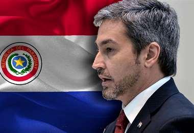 El mandatario paraguayo. Foto Internet