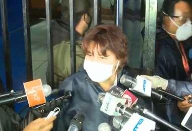 La fiscal Faridy Arnéz anunció que apelará al fallo