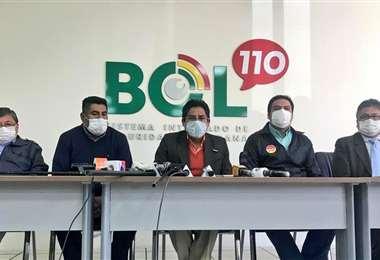 Conferencia de prensa del COED La Paz I Radio Líder.