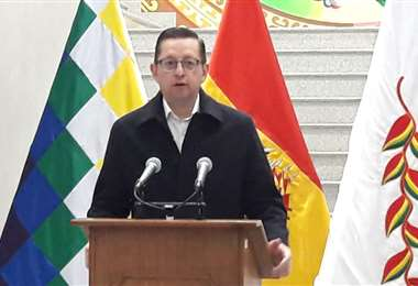 El ministro de Desarrollo Productivo, Óscar Ortiz