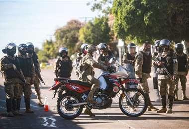 FFAA y policías recibirán recursos adicionales Foto: Jorge Uechi