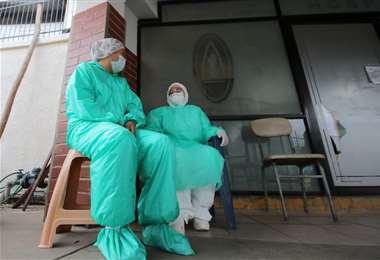 Los médicos están la primera línea de contención del coronavirus /Foto:Jorge Ibáñez