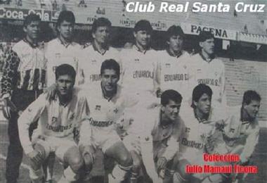 Real Santa Cruz ganó el Apertura de 1996
