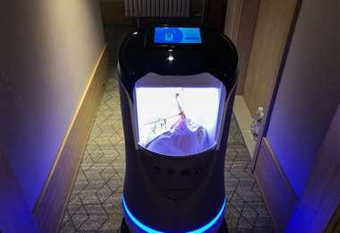 Los robots cumplen muchas labores. Foto AFP
