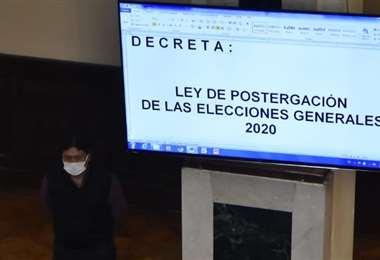 La Ley está promulgada y vigente (Foto: APG noticias)