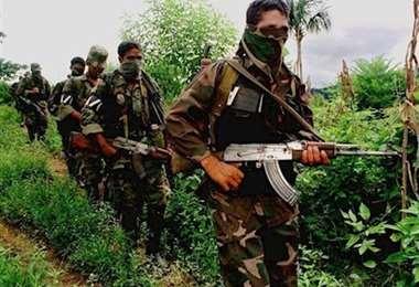 Supuestos mercenarios colombianos. Foto Internet