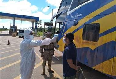 La paciente ingresó por la tranca el 21 de abril. Foto: Municipio de Guayaramerín