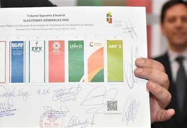 Los partidos tendrán esa posición en los comicios que no tienen fecha (Foto: APG noticias)