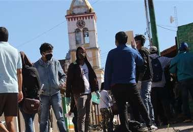 Esta semana se han duplicado los casos sospechosos de Covid-19 en el municipio de Cotoca/foto: Jorge Gutiérrez