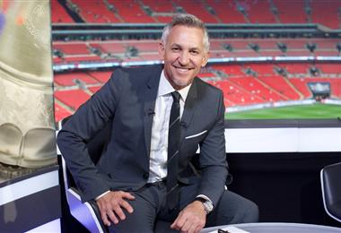 Gary Lineker, exfutbolista inglés y comentarista deportivo