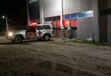 En el municipio esta sin condiciones para atender a los pacientes/Foto: EL DEBER