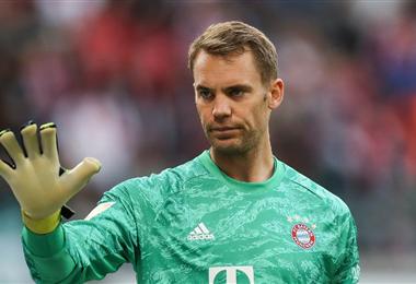 Manuel Neuer es uno de los mejor pagados del Bayern Múnich