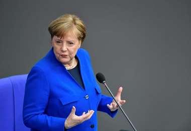 Merkel declina invitación de Trump