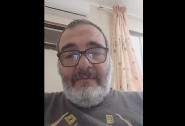 Pedro Satt relatando el drama que vivió por el Covid-19