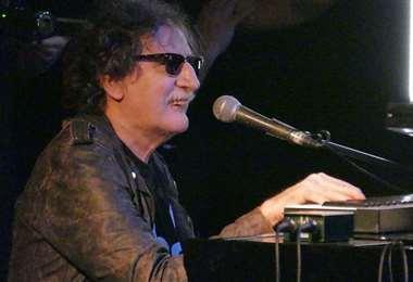 El músico fue internado ayer en una clínica de la ciudad de Buenos Aires